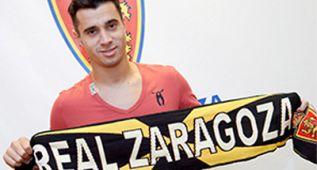 Jaime Romero ya es el octavo refuerzo del Real Zaragoza
