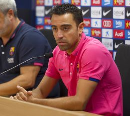 """Xavi, sorprendido: """"He leído que no me hablo con Luis Enrique..."""""""