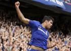 El Chelsea, firme: Diego Costa y Hazard derrotan al Leicester