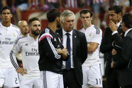 """Ancelotti: """"Di María no jugó por decisión mía, no lo necesitaba"""""""