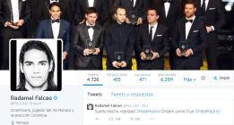 El twitter de Falcao anuncia su fichaje por el Madrid y lo borra