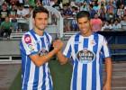 Hélder Postiga y Juanfran se entrenan por primera vez