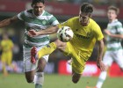 Cuatro goles de Gerard Moreno dan la victoria al Villarreal