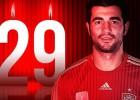 Raúl Albiol cumple 29 años