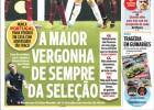 """La prensa portuguesa: """"La mayor vergüenza en la historia"""""""