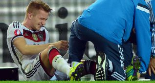 Reus, cuatro semanas de baja tras lesionarse contra Escocia