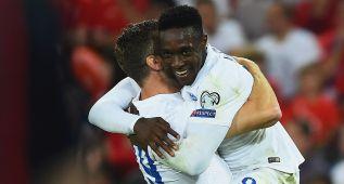 Inglaterra gana con lustre y dos goles de Danny Welbeck
