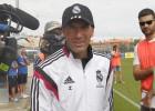 Zidane pidió ayer un despacho propio en el Fernando Torres