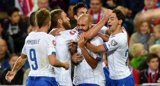 Italia supera con facilidad a Noruega y Conte sigue en racha