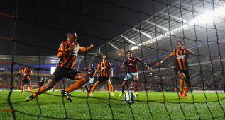 Hull City y West Ham cierran la cuarta jornada con un empate
