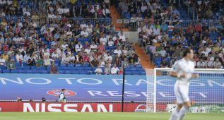 El Madrid cumplió ayer la sanción de la UEFA por racismo