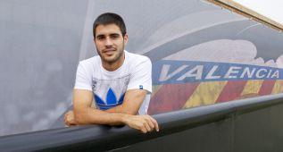 """Carles Gil: """"La idea es que no se vayan puntos de Mestalla"""""""