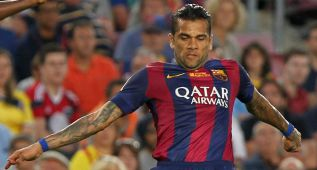 """Alves anuncia que se va: """"El año que viene jugaré en Inglaterra"""""""