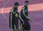Raúl Albiol y Gerard Piqué: desde 2012 no juegan juntos