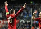 Rooney da la victoria a Inglaterra en su visita a Estonia