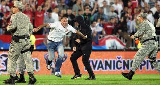 """La Federación Serbia: """"Los albaneses atacaron a Mitrovic"""""""