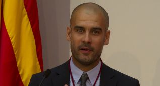 """Guardiola: """"Si tengo tiempo, sí iré a la consulta de Cataluña"""""""