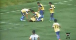 Fallece un jugador en India por una caída al celebrar un gol