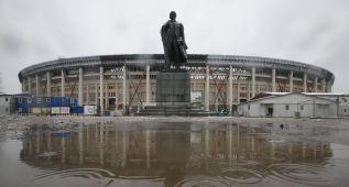 FIFA inspecciona el Luzhnikí, sede de la final del Mundial 2018