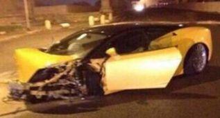 El español Keita sale ileso de un accidente de tráfico en Roma