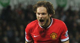 Blind salva casi sobre la hora otro pobre punto para el United