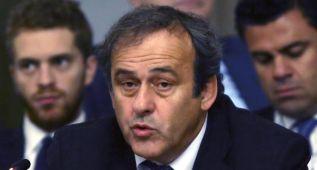 """Platini pide ayuda a la UE por """"las prácticas inmorales"""""""
