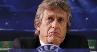 """Jorge Jesús: """"Veo una campaña contra Portugal en los arbitrajes"""""""