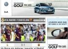 """La prensa catalana: """"Al Barça le vino grande el Clásico"""""""