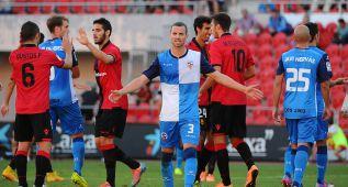 El Mallorca gana 1-0 y coge vuelo ante el Sabadell