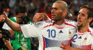"""Zidane: """"Espero que Ribéry vuelva con Francia como hice yo"""""""