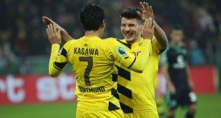 Dortmund, Bremen y Colonia pasan a octavos de final