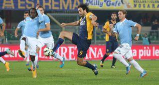 El Lazio empata en Verona y se sitúa tercero a seis de los líderes