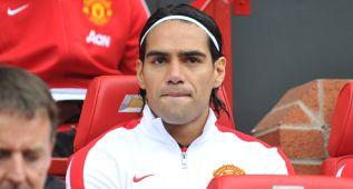 El colombiano Falcao será baja en el derbi de Manchester