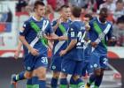 El Wolfsburgo golea 4-0 al Stuttgart y ya es segundo