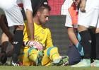 Cuatro sevillistas, lesionados en el empate ante el Levante