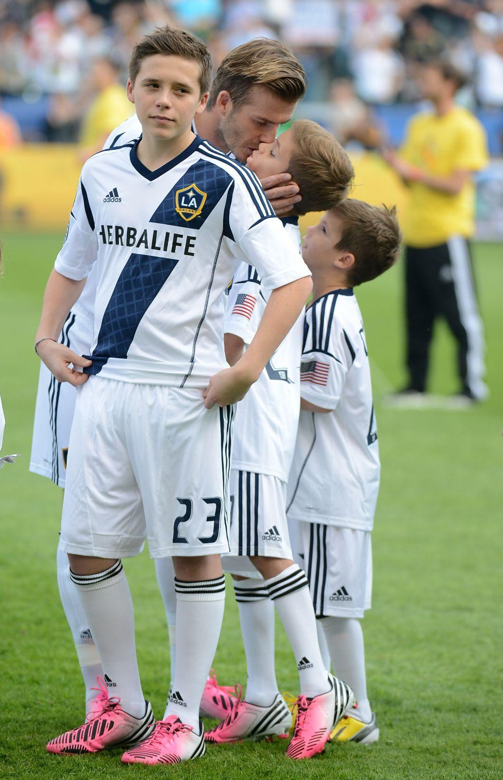 El hijo mayor de Beckham ficha por el Arsenal con 15 años - AS.com