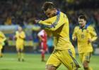El 'hat-trick' de Yarmolenko ilumina el camino de Ucrania