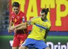 Jovetic salva un punto para los balcánicos ante Suecia
