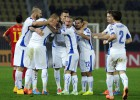 Eslovaquia continúa líder tras deshacerse de Macedonia