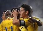 Colombia gana a Eslovenia con asistencia de James a Ramos