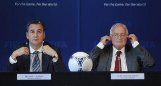 La FIFA lleva a la Fiscalía a los acusados del Informe García