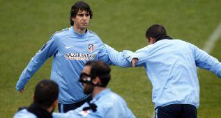 Tiago se entrenó y apura a tope para jugar ante el Deportivo