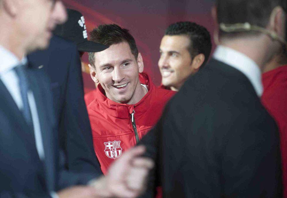 Lionel Messi niega que esté valorando irse al Chelsea