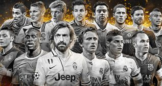 Modric, James, Kroos, Xavi e Iniesta, nominados al FIFpro