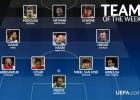 Arbeloa, Neymar y San José, en el once UEFA de la semana
