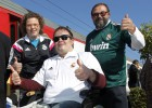 El caos de un madridista en silla de ruedas por Rabat