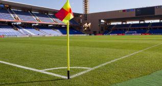 El terreno de juego del Stade de Marrakech, en perfecto estado
