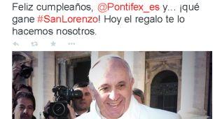 San Lorenzo le quiere dar el mejor regalo al Papa Francisco