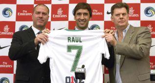 Raúl González debutará con el Cosmos el próximo 4 de abril