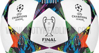 Así será el balón en la final de la Champions League en 2015